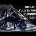 Kütyühíradó: nyomtatott motorkerékpár!