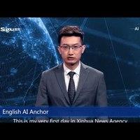 A kínAI műsorvezető