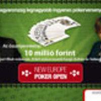 New Europe Poker Open a Sportklubon