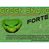 Megérkezett a Green Snake Forte, és a Virility Max Plus
