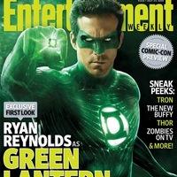 Green Lantern az újságborítón!