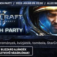 StarCraft II Launch party!
