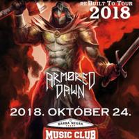 Élménybeszámoló - Armored Dawn, Hammerfall Barba Negra 2018-10-24