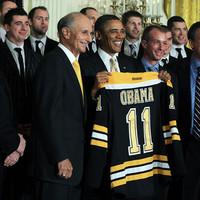 Obama is az NHL-szezon mellett