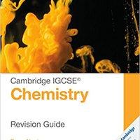 ^LINK^ Cambridge IGCSE® Chemistry Revision Guide (Cambridge International IGCSE). Voice Patricia Flexural anuncio Agency mission