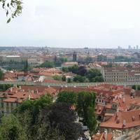 Károly-híd a várból nézve