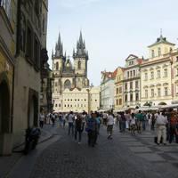 Óvárosi tér és a Tyn templom
