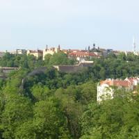 Kilátás a várfalra