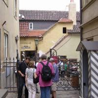 Az Arany utcácska bejárata