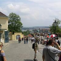 A vár kijárata a Moldva felé