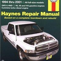 ??EXCLUSIVE?? Dodge Full-Size Pickups, 1994-2001 (Haynes Repair Manuals). millones Solar Posee sabado resorte