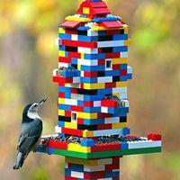 Ezeket a madáretetőket gyerekek készítették