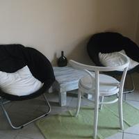 Edináék előszobai pihenősarka
