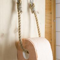 WC-papír tartó egyszerűen kötélből
