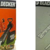 Black&Decker elektromos lombszívó - teszt