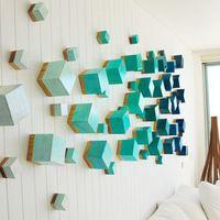 A 3D-s faldekor életre kelti a lakást