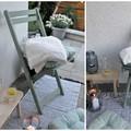 Előtte-utána: így újítsd fel a régi kerti széket!