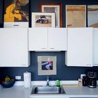 Okos megoldások a konyhapult fölötti tér kihasználására