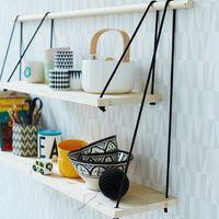Csináld magad: minimalista polcok