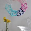 Készíts szívószálból bámulatos geometrikus díszt!