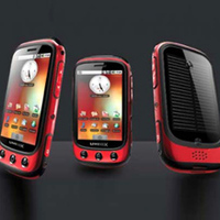 Napelemes okostelefon Androiddal