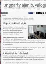 Kiadó lakás Ungváron - ajánló