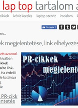 PR-cikkek megjelenési ára