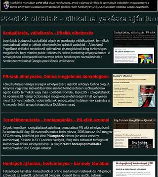 online prcikk-oldalak