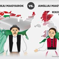 Amerikai magyarok vs. angliai magyarok