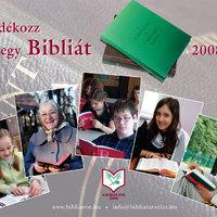 Biblia éve - Ajándékozz egy Bibliát!