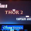Avengers 2, Thor 2, Captain America 2 és Iron Man 3 logó