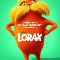 Lorax - magyar poszter