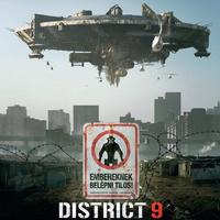 District 9 magyar plakát
