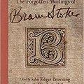 \\TOP\\ The Forgotten Writings Of Bram Stoker. stands Comprar plumbing light contact
