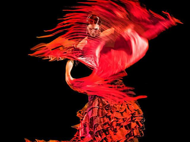 Tüzes tablao flamenco show - Pirók Zsófi, spanyol vendégművészekkel