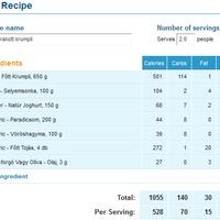 Receptek: hamis rakott krumpli, brassói