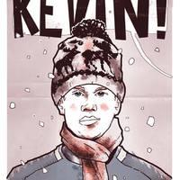 Kevin lábai előtt