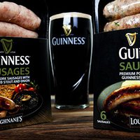 Guinness-sausage match