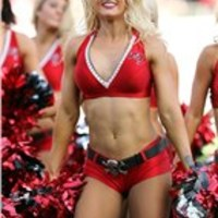 2012. Eagles vs. Buccaneers Cheerleaders