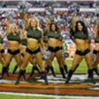 2013. Dolphins vs. Buccaneers Cheerleaders