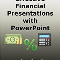 20 Tips For Effective Financial Presentations With PowerPoint Book Pdf