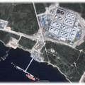 Olaj a kikötőben