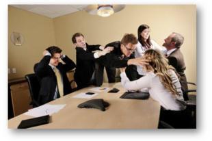 Az öt legpusztítóbb irodai konfliktus.