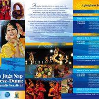 Nemzetközi Jóga Nap & Gangesz-Duna: Indiai Kulturális Fesztivál – 2016. június 17-19.