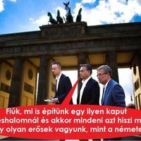 Poroszok dicsősége, magyarok nyomorúsága