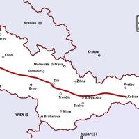 Elveszett autópálya a víztározóban - Švihov, Csehország