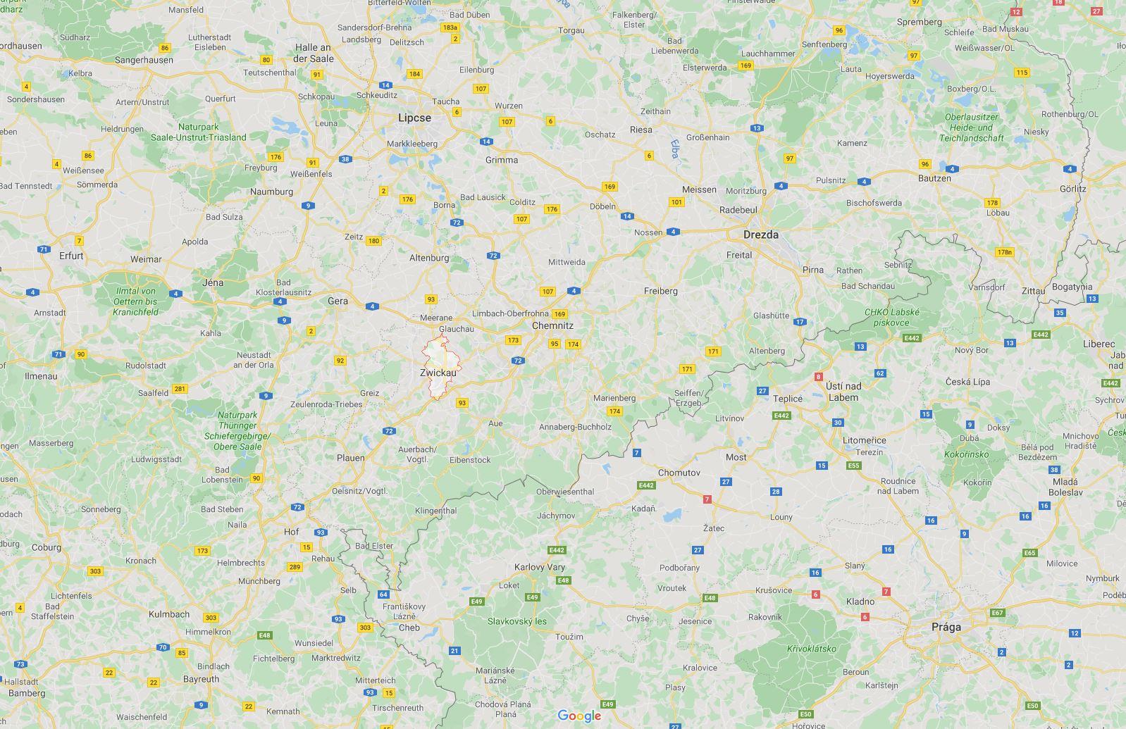 Zwickau Szászországban