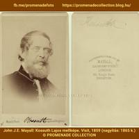 Kossuth ismeretlen londoni fényképe