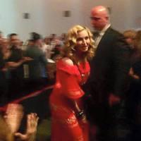 Madonna váratlanul megjelent egy filmvetítésen
