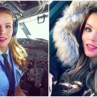 Felrobbant az internet a világ legszexisebb pilótanőjétől
